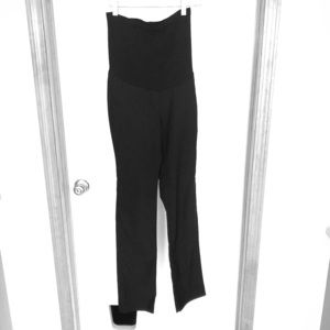2/30! A PEA IN THE POD - Black Maternity Pants